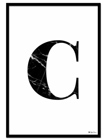 C – Marble Letter