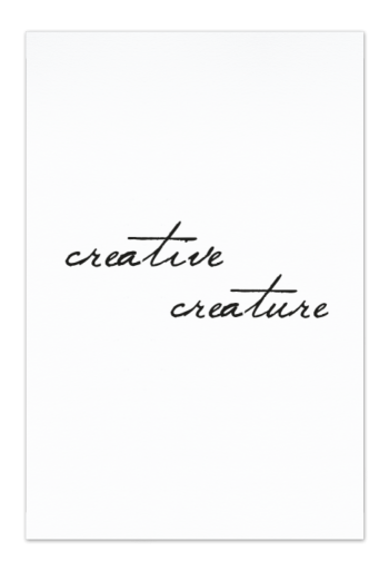Creative Creature Art Card | Art doesn't have to be big to make a big impression. Our art cards are about the size of postcards, but they'll brighten up any room with their eye-catching designs. With a selection of unique art work printed on high quality paper, these are a versatile type of art for all sorts of occasions.