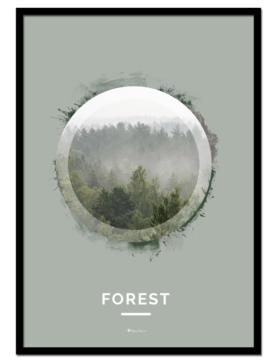 """Forest poster 