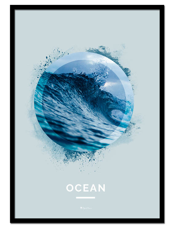 """Ocean poster 