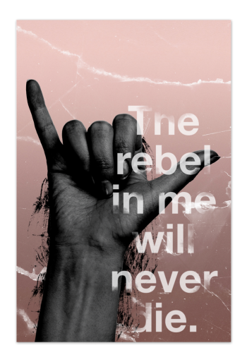 The Rebel in Me – Art Card