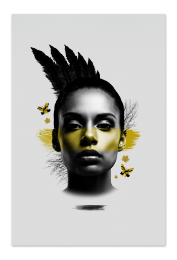 Yellow Mohawk – Art Card