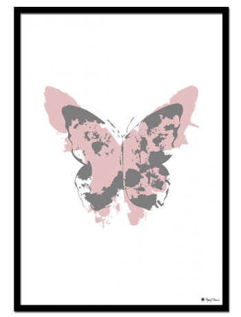 Dusty Pink Butterfly