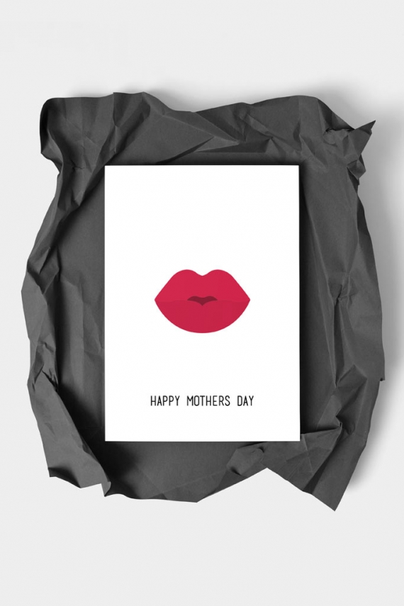 Happy Mothers Day Art Card by People of Tomorrow. Art doesn't have to be big to make a big impression. With a selection of unique art work printed on high quality paper, these are a versatile type of art for all sorts of occasions. Explore unique art cards for creative decorating!
