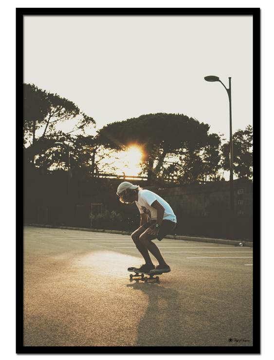 """Sunset Skate poster 