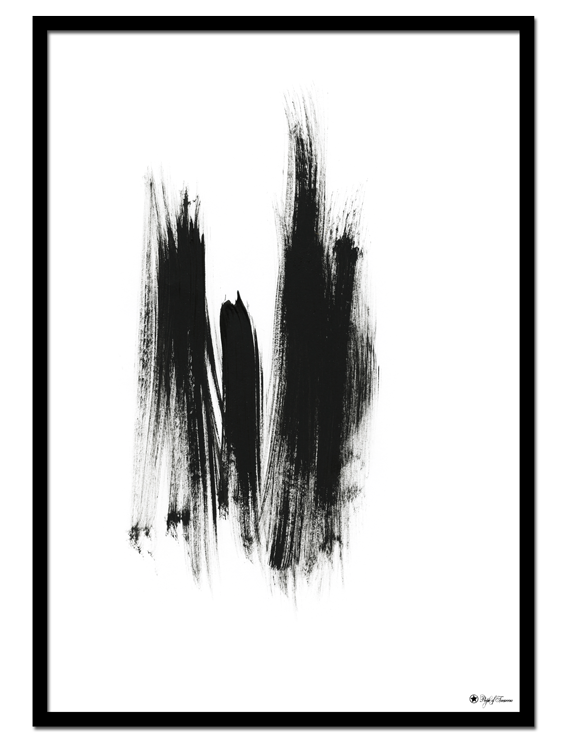 Dry Brush No 4 poster | Abstract art print made from acrylic paint with digital modifications.By combining analogue and digital techniques we have created a special edition of poster art for your home. These art prints are painted with acrylic paint on canvas and modified digitally by our designteam.