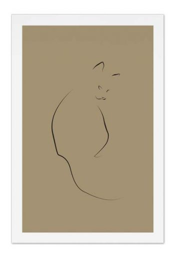 Cat – Art Card