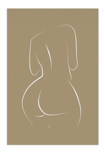 Curvy Lines – Art Card