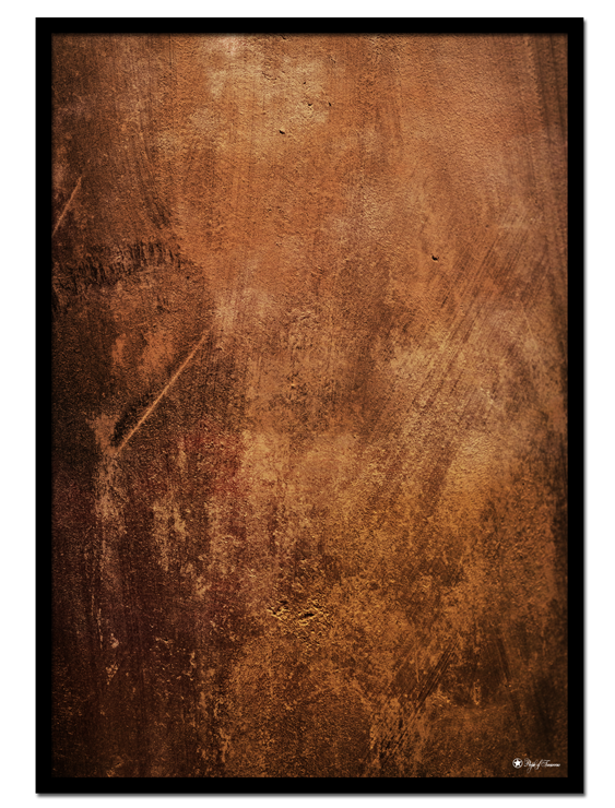 Copper Wall poster |Abstract art print made from acrylic paint with digital modifications.