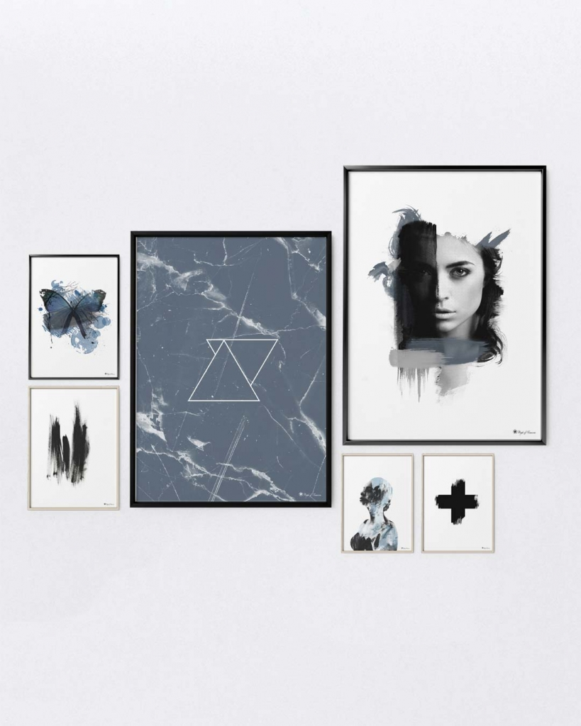 Gallery Wall |Posters & Art Prints | People of Tomorrow