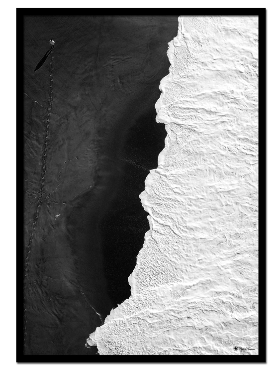 Black Beach poster |Beautiful photo art in black and white is a timeless decor element, and this picture of a beach is no exception. Display it alone or with other grayscaled prints for a classy look