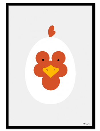 Rooster Egghead
