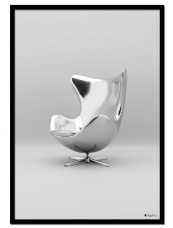 Chrome Egg Chair