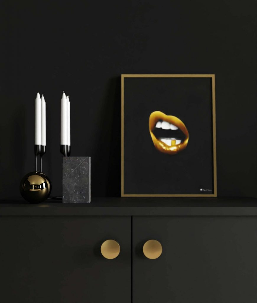 Luxury with Black & Gold | Posters & Art Prints | People of Tomorrow