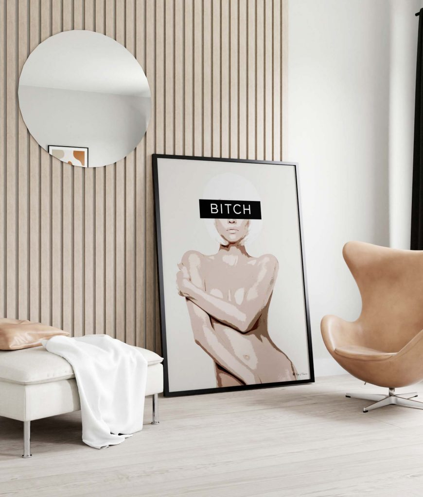 Black Frame 100x140 cm |Picture Frames |Posters | People of Tomorrow