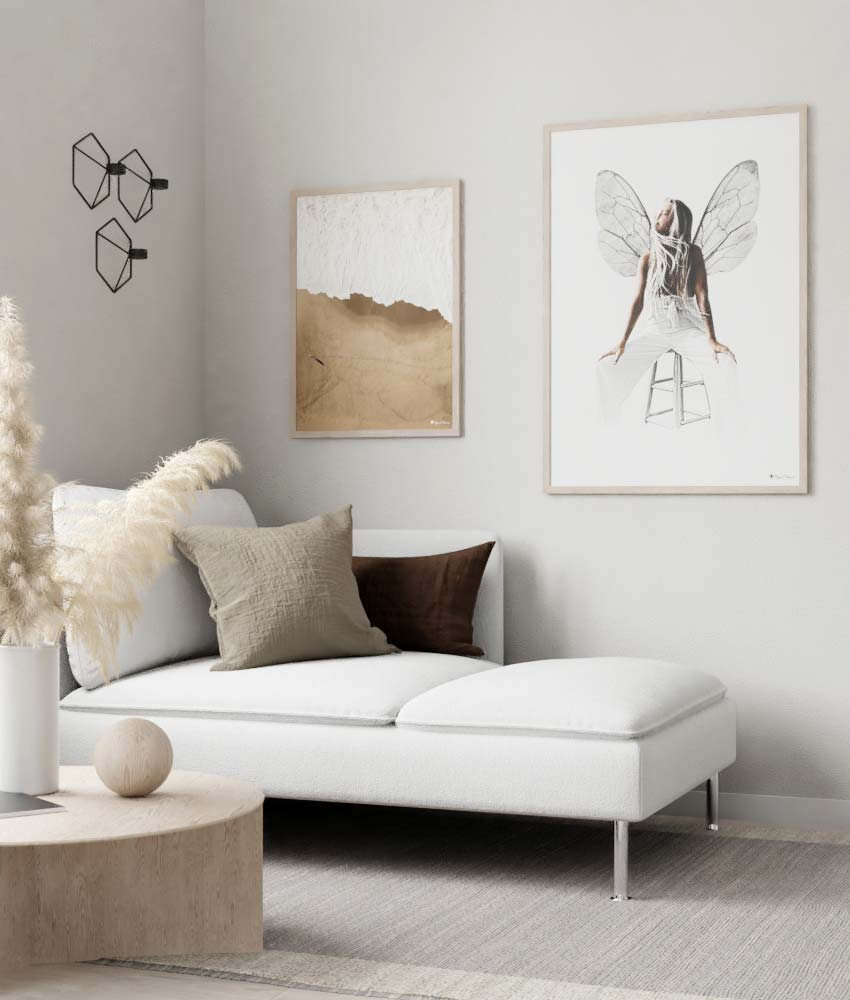 Beige Accents | The Blog | Posters & Prints | People of Tomorrow