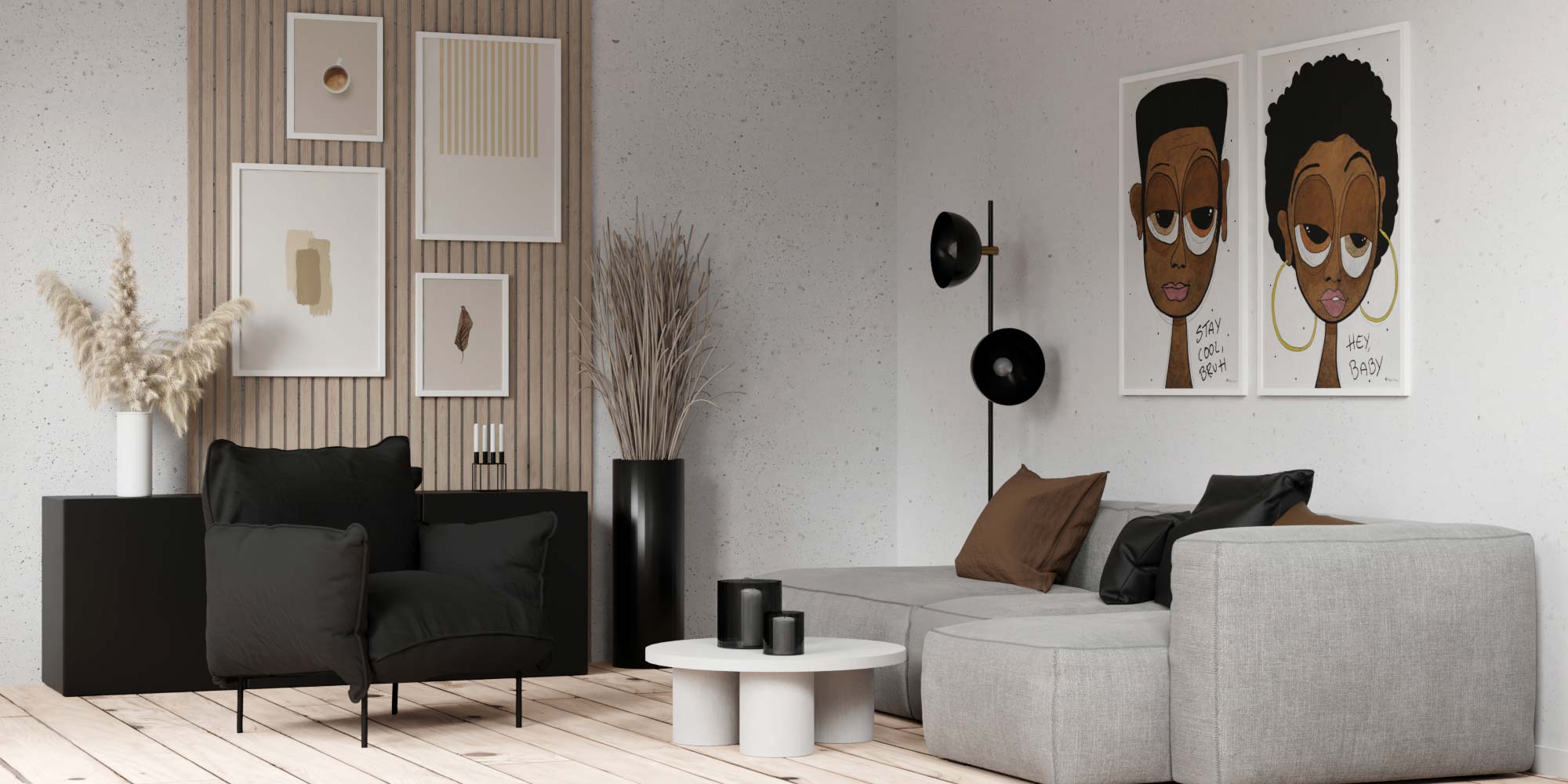 Beige Accents |The Blog |Posters & Prints |People of Tomorrow