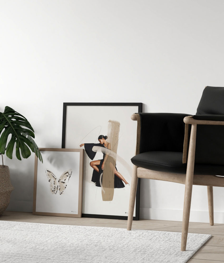 One is nice, but two is always better! Be inspired by our styling rooms and find yourself the perfect matching posters! Interior and wall art inspiration.