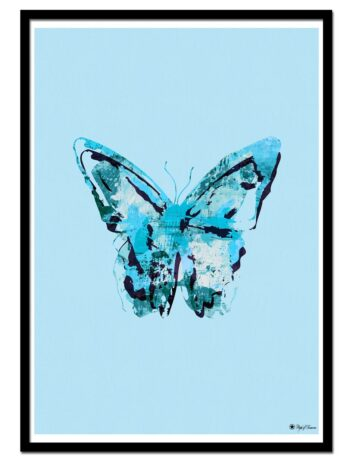 Scattered Butterfly – Blue
