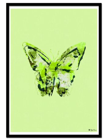 Scattered Butterfly – Green